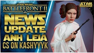 A NEW HOPE LEIA, New Capital Supremacy Map, Anakin NERF   Battlefront 2 Update