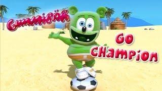 Gummibär GO CHAMPION World Cup Soccer/Football Song French Gummy Bear