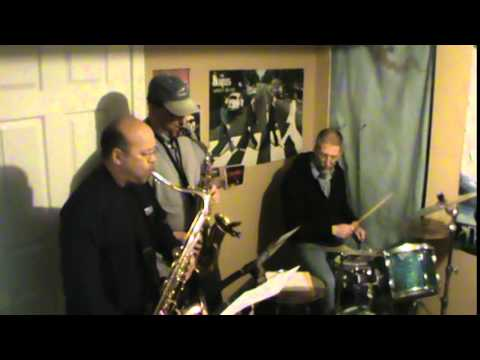 Superstition Stevie Wonder cover practice session 1 with keyboard horns guitars