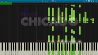All windows startup and shutdown sounds as PIANO MIDI REMIX