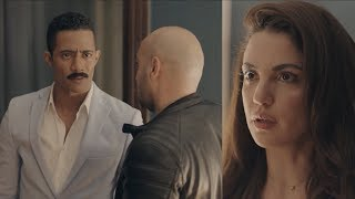 مشهد طلاق زين القناوي لفيروز - مسلسل نسر الصعيد - محمد رمضان