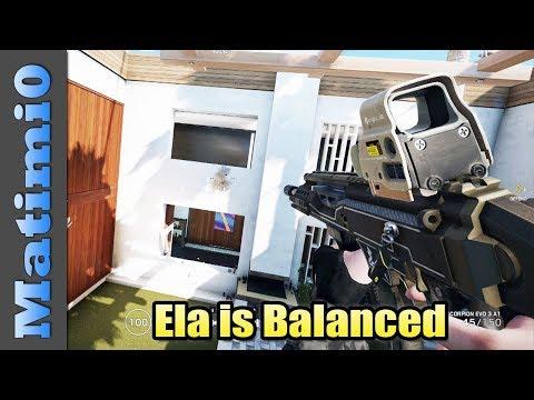 Xxx Mp4 Ela Is Balanced Rainbow Six Siege 3gp Sex