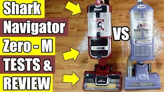 Shark Navigator Lift Away ZERO M Review & Comparison ZU561 ZU562