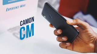 TECNO Camon CM: Hands On & First Impressions!