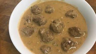 How To Make IKEA Style Swedish Meatballs
