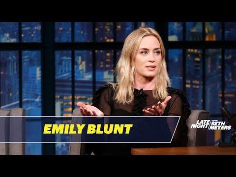 Xxx Mp4 Emily Blunt Tells The Story Of How She Met John Krasinski 3gp Sex