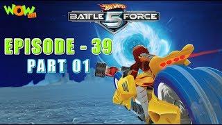 Motu Patlu presents Hot Wheels Battle Force 5 - Full Throttle - S2 E39.P1 - in Hindi