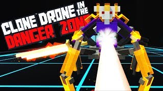 SPIDERTRON 7000! - HUGE NEW UPDATE! - Chapter 3 Story - Clone Drone in the Danger Zone Gameplay