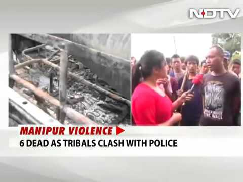 Xxx Mp4 7398 Governance Stage NDTV Curfew In Manipur As Churachandpur Protests Intensify Six Dead 3gp Sex