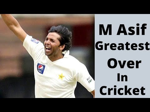 Mohammad Asif Greatest Over of His Career Magical Seam Bowling