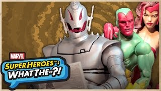 Ultron & Vision: Robo Roomies – Marvel Super Heroes: What The--?! Ep 41