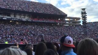 Sam Hunt. Single for the Summer. Auburn Alabama. 4/23/2016
