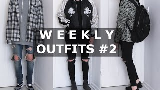 Weekly Outfits  2   Fear of God, VANS, Y3, ASOS, ACNE STUDIOS   Gallucks