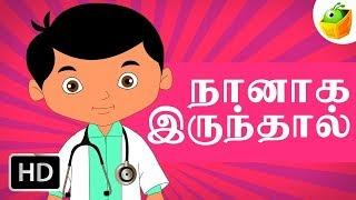 Naan Irundhal   Chellame Chellam   Tamil Rhymes For kutties