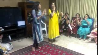 Marium's Dholki Dance   YouTube