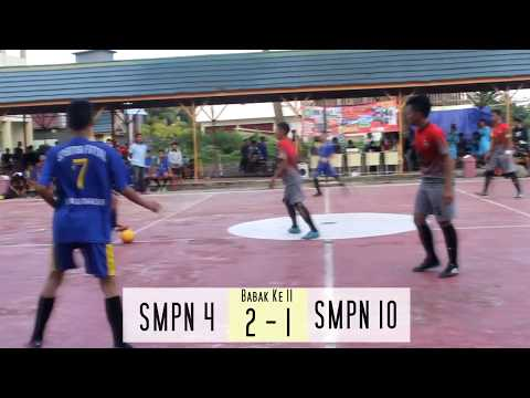 SMK ISLAM SABILAL MUHTADIN CUP 2017 FINAL SMPN 4 BANJARMASIN vs SMPN 10 BANJARMASIN