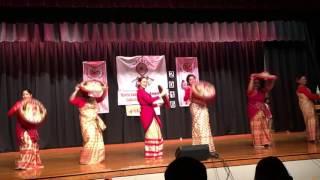Eei Dehi Senai-Group Bihu Dance at New Jersey Rongali Bihu 2016