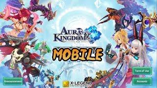 Rilis Bahasa Inggris!   Aura Kingdom Mobile [ENG] Android MMORPG