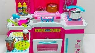 العاب بنات  :  لعبه المطبخ وشكل جديد من ا المطباخ  : وادوات الطبخ : العاب بنات فقط