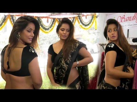 Xxx Mp4 HOT Neetu Chandra In Seductive Saree At Designer Sandhya Singh S Store Launch 3gp Sex
