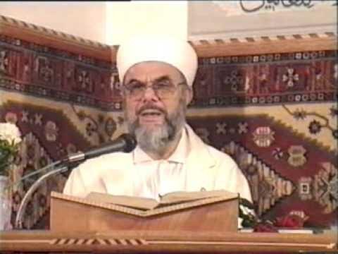 Hadis Sohbeti 04.05.1997 İskenderpaşa Camii Son Sohbet Prof. Dr. Mahmud Esad Coşan Rh.A