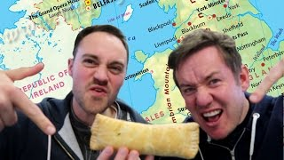 FOOD TOUR   BEDFORDSHIRE CLANGER & CHOCOLATE TOOTHPASTE