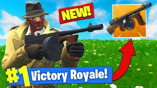 *NEW* DRUM GUN GAMEPLAY In Fortnite Battle Royale!