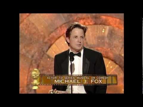Michael J. Fox Wins Best Actor TV Series Comedy - Golden Globes 1999