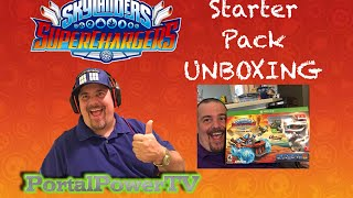 Skylanders SUPERCHARGERS - UNBOXING : Starter Pack for XboxONE