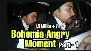 Bohemia Angry On F-BAR Manager !! FBAR !! CP !! New Delhi !! Bohemia - The Punjabi Rap God !!