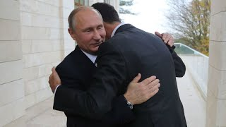 Russia: Vladimir Putin and Bashar al-Assad in Russia