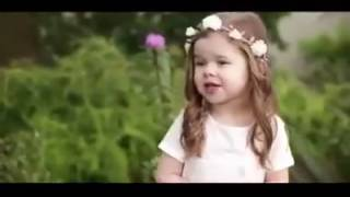 Beautiful Christian Song by cute Little baby Girl