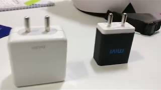 Mivi Quick Charge Wall Charger with Auto-Detect Technology