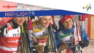 Highlights   Nilsson rules in Ruka Sprint   FIS Cross Country