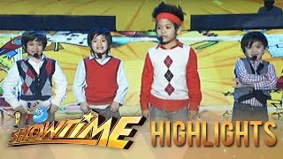 MiniMe ng F4 nagpakilig ng madlang people sa It's Showtime