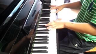 초등5년때 승준이 피아노(곡명 은파)