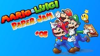 I said Brrr, it's cold up here! - Mario & Luigi: Paper Jam #05
