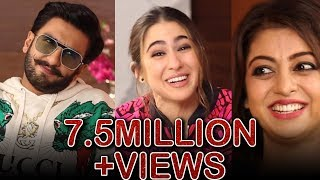 Ranveer Singh and Sara Ali Khan in a fun chat with Atika Farooqui | Simmba | Interview