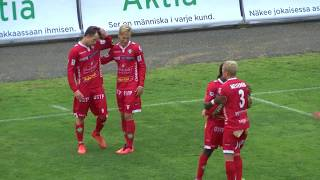 FF Jaro - Gnistan la 12.8 2017 - Ottelukooste