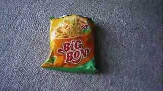 Unboxing лапши  Big Bon