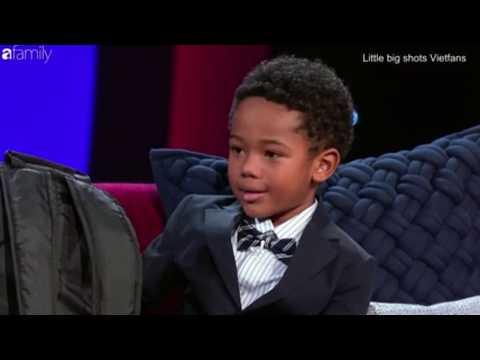 Little Big Shots Vietsub Cậu bé 6 tuổi được trao danh hiệu siêu anh hùng nhí