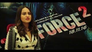 Force 2 | Behind The Scenes  | Sonakshi Sinha