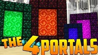 4 Portals in Minecraft