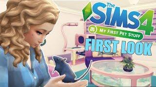 🐹 First Look: THE SIMS 4: MÓJ PIERWSZY ZWIERZAK [akcesoria]