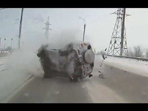 watch Russian Car crash compilation December ✦ Russian Car crashes ✦ week 3