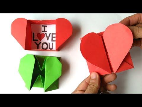 Xxx Mp4 Origami Caja De Corazón Y Sobre Origami Heart Box Amp Envelope 3gp Sex