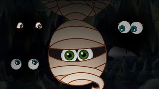 THE MUMMY | Adventures Of Annie And Ben And Mango | Cartoons For Kids