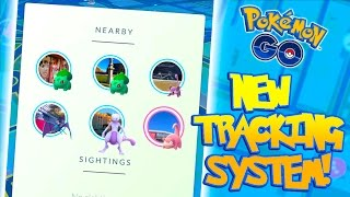 NEW TRACKING SYSTEM IN POKEMON GO! Tracking System Finally Fixed?
