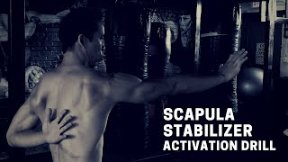 Scapula Stabilizer Activation Drill
