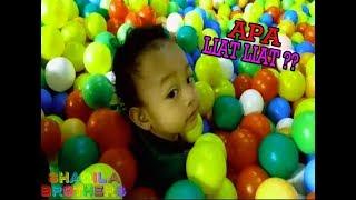 Mandi Bola Shaqila Brothers Vlog | Enzi Tenggelam Di Kolam Bola ♥ ♥   | Play Balls Pit Show